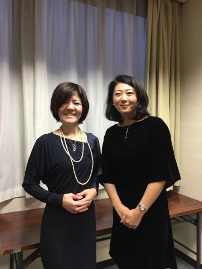 女性のための起業セミナーに小笠原さんと一緒に登壇しました