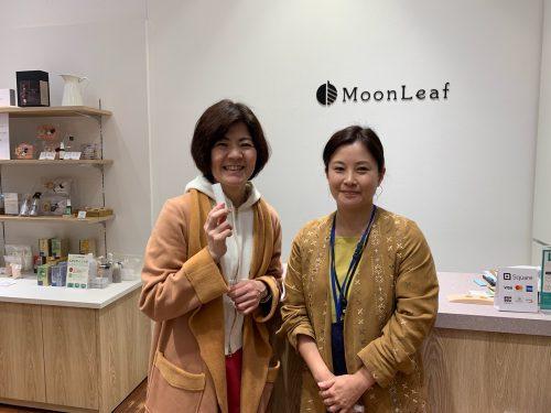 アロマテラピーの学校と香りと基材のお店 MoonLeafさんがあべのandに常設店をオープンされました。